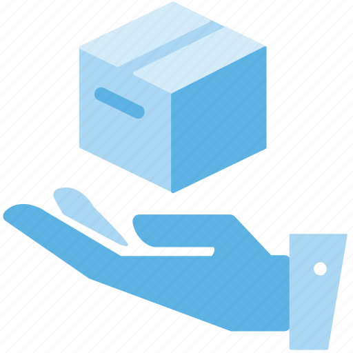 Delivery, hand, package icon - Download on Iconfinder