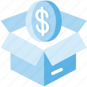 business, ecommerce, logistic delivery, logistics, package, parcel, purchase icon