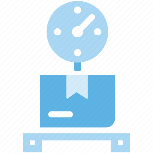 package, scale, weight icon