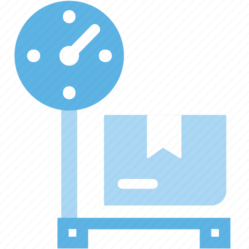 Package, platform, scale, weight icon - Download on Iconfinder