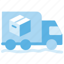 box, courier, parcel, transport icon