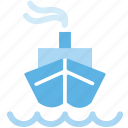 boat, container, logistic, logistics, ship, shipping, transportation icon