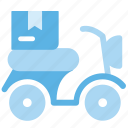 delivery, fast, fast delivery, logistic delivery, logistics, products, scooter icon