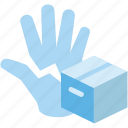 box, corrupt, courier, package icon