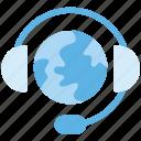 call center, customer service, international, operator