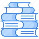 books, documentation, manuals, knoledge, library, history, journal icon icon