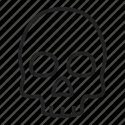 corpse, death, skull icon