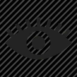 eye, view, watch icon