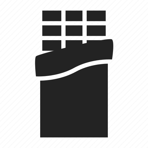 bar, chocolate icon