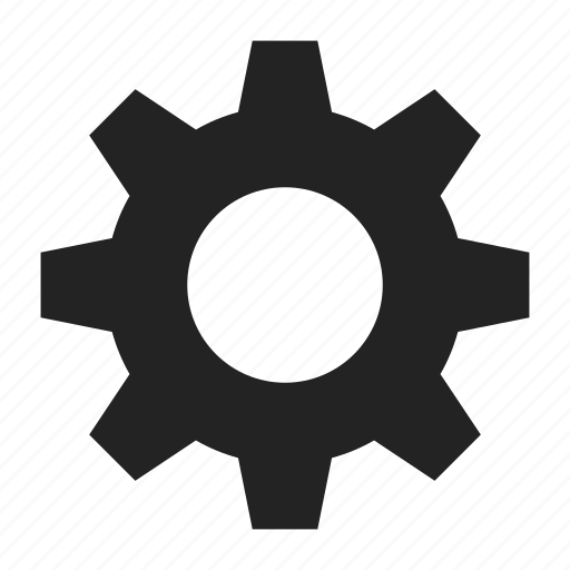cogwheel, gear, gearwheel icon