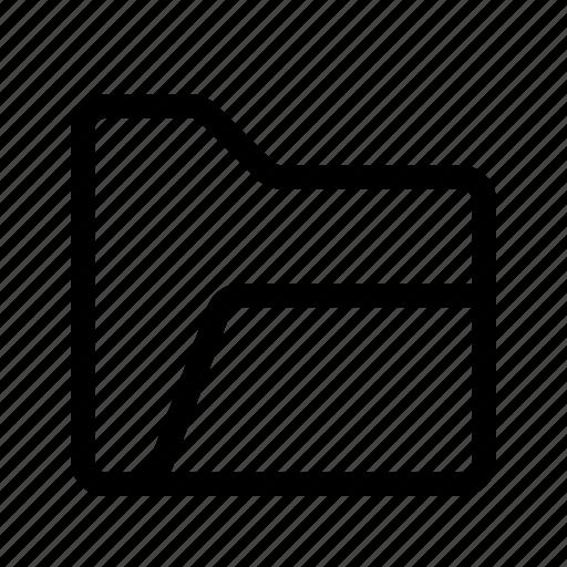 Open, folder, archive, storage, database, file, document icon - Download on Iconfinder
