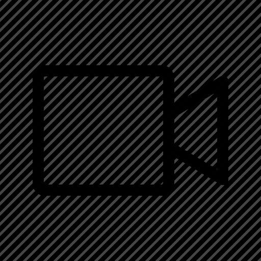 Video, player, movie, film, cinema, audio, record icon - Download on Iconfinder