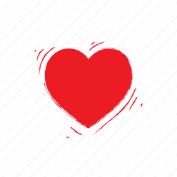 heart, love, shaked, valentine icon