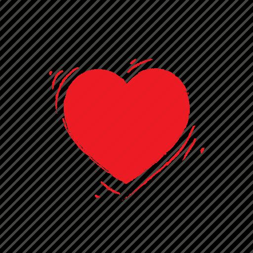 Heart, love, shaked, valentine icon - Download on Iconfinder