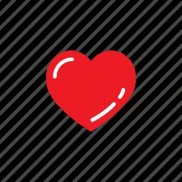 heart, love, romantic, valentine, wedding icon