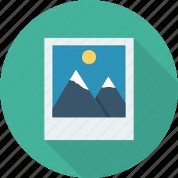 camera, digital, file, gallery, image, photo, picture, picture icon icon