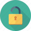 unlock, open, unlocked icon