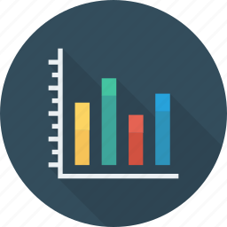 analytics, bar, chart, increase icon icon