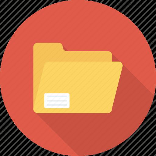 data, doc, folder, open icon icon