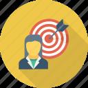 seo, marketing, target user, customer target, user target icon