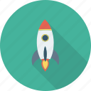 rocket, spaceship, startup icon icon