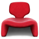 chair, seat, seater icon