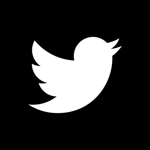 App, b/w, logo, media, popular, social, twitter icon - Free download