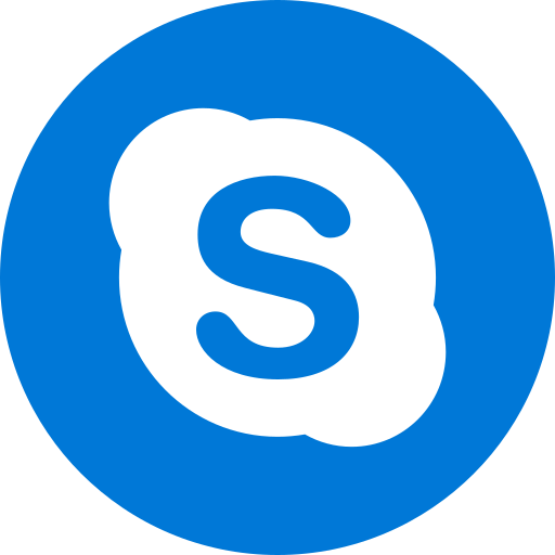App, logo, media, popular, skype, social icon - Free download