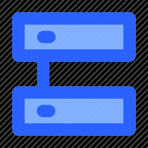 data, database, internet, network, server icon
