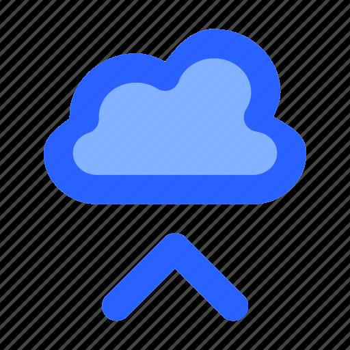 cloud, data, internet, network, upload icon