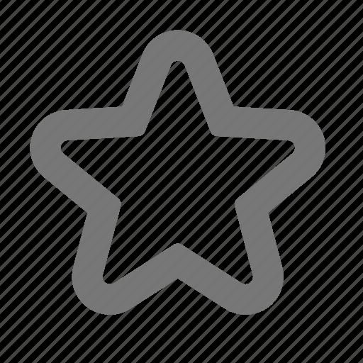 favorite, star, ui icon