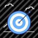 aim, goal, target icon