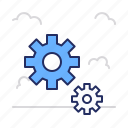 control, gears, setting icon