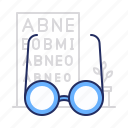 glasses, oculist, ophthalmologist icon