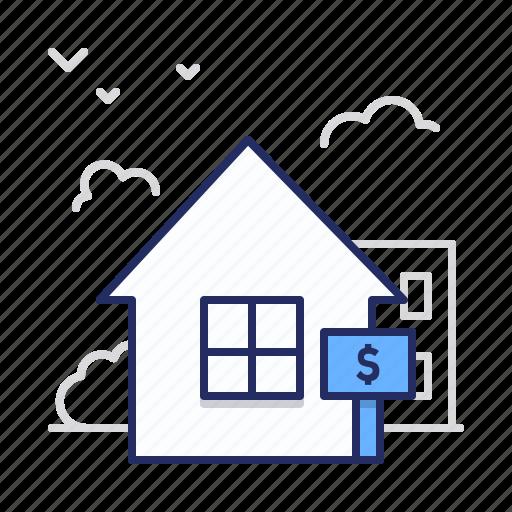 house, rent, sale icon