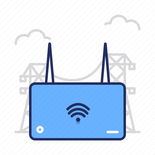 internet, web, wi-fi icon