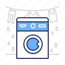 laundry, wash, washing icon