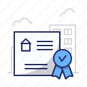 certificate, diploma, license