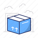 box, delivery, relocation icon