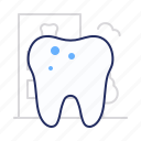 decay, dental, tooth icon