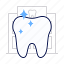 purity, tooth, whitening icon