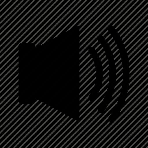 audio, high, music, sound, speaker, volume icon