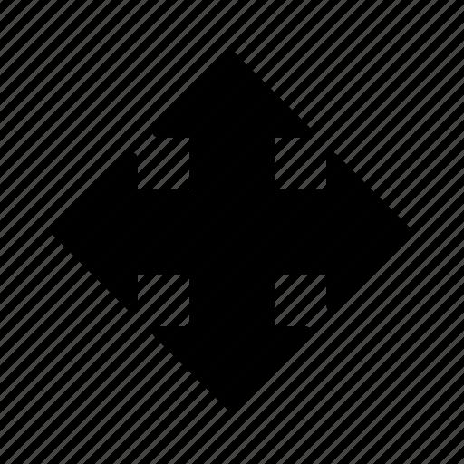 arrow, direction, drag, move, move icon, pick icon