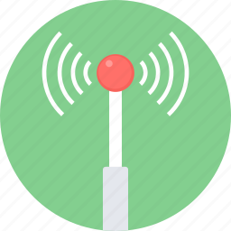 antenna, connection, internet, network, signal, wifi, wireless icon
