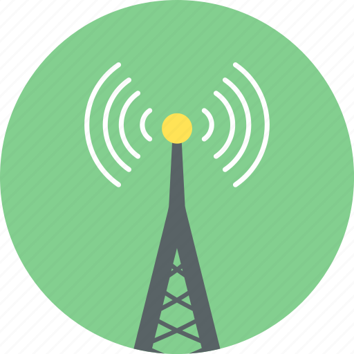 communication, connection, internet, network, tower, web, wifi icon