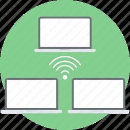 computer, internet, monitor, network, screen icon