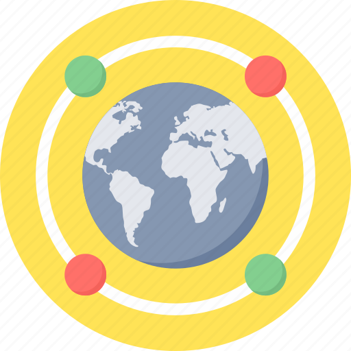 connection, global, internet, network, technology, web, wireless icon