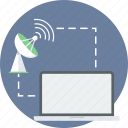 connection, internet, network, technology, web, wireless icon