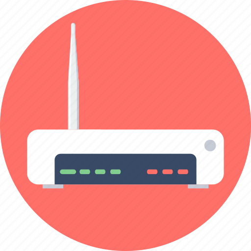 communication, internet, modem, network, router, wifi, wireless icon