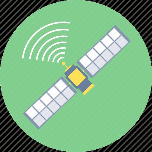 communication, dish, internet, satellite, space, technology, wireless icon